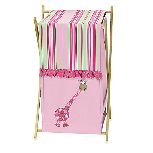 Sweet Jojo Designs Jungle Friends Laundry Hamper