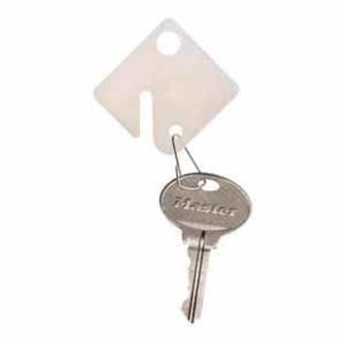 Master Lock Snap Hook Plastic Key Tags - 20 Packs - 7117D