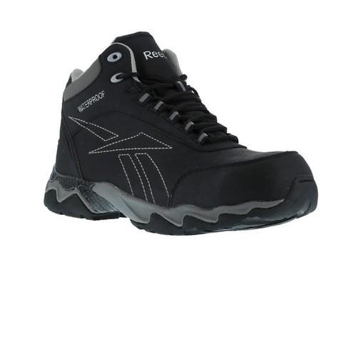 Reebok Beamer - Waterproof Athletic Hiker - Black with Grey Trim [width : Medium]