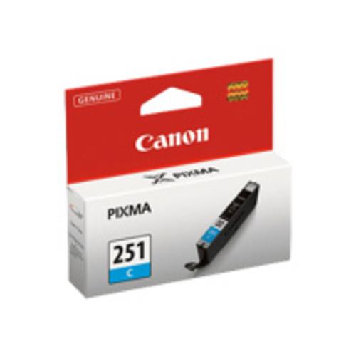 Canon CLI251 Cyan Ink Tank for PIXMA iP7220, MG5420, MG6320 Printers