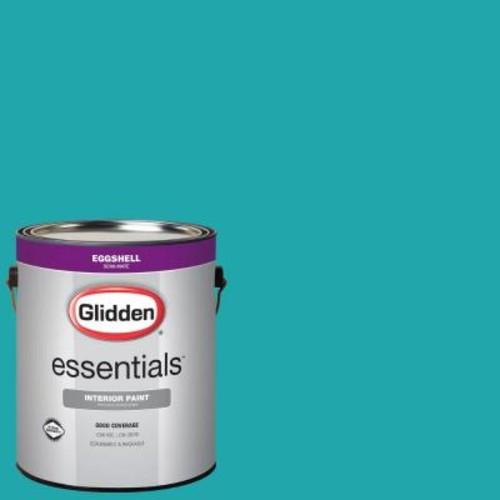 Glidden Essentials 1 gal. #HDGB14 Marine Blue Eggshell Interior Paint