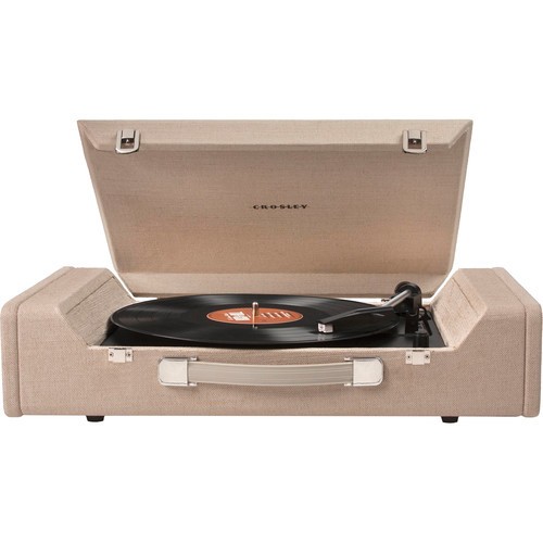 Nomad Portable Turntable with USB and Recording Software (Brown)