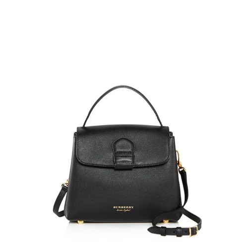 BURBERRY Camberley Small Leather Satchel