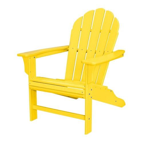 Trex Outdoor Furniture HD Lemon Patio Adirondack Chair