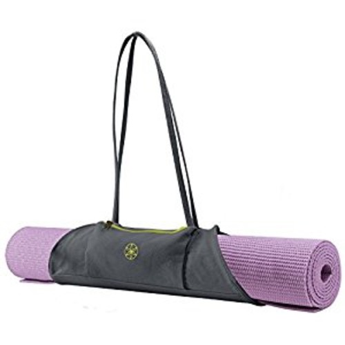 Gaiam On-The-Go Yoga Mat Carrier [Citron Storm]