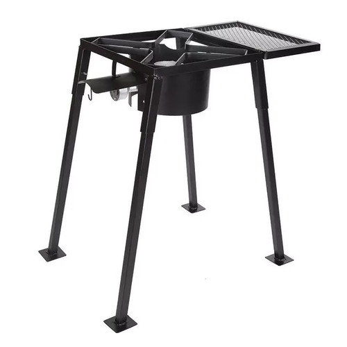 Stansport Stove With Mesh Shelf, Black