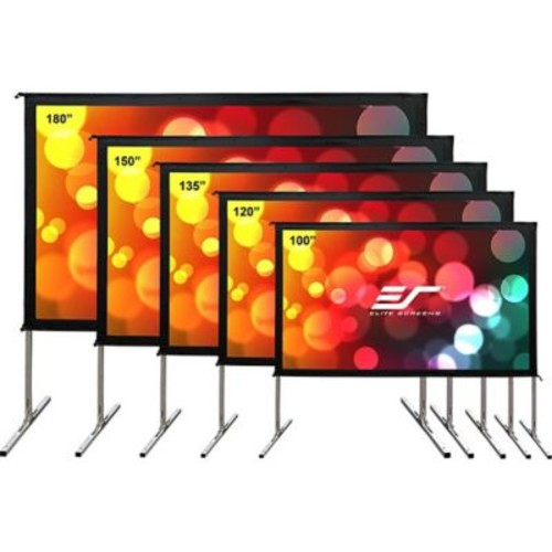 Elite Screens Yard Master 2 Dual OMS135H2-DUAL Projection Screen, 135
