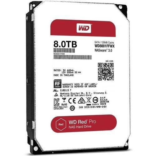 8TB Red Pro 7200 rpm SATA III 3.5
