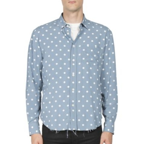 SAINT LAURENT Polka Dot Patterned Shirt