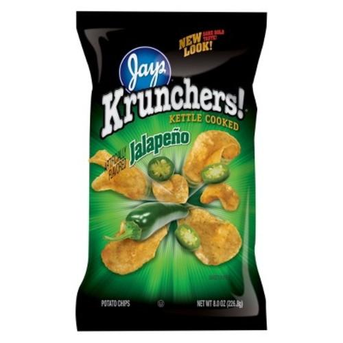 Krunchers Kettle Cooked Jalapeno Potato Chips - 8 oz