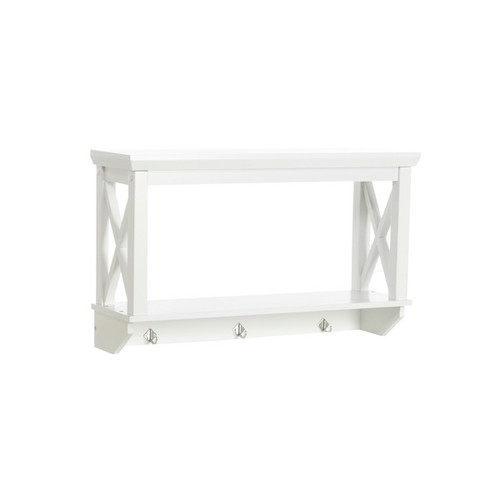RiverRidge Home Products Bathroom Organization & Shelving RiverRidge Home X-frame Bathroom Wall Shelf