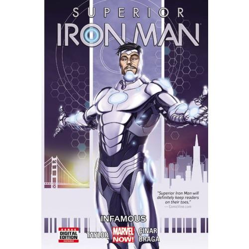 Superior Iron Man, Vol. 1: Infamous