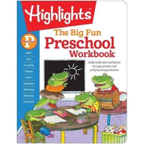 Big Fun Preschool Activity Book (Workbook) (Paperback)