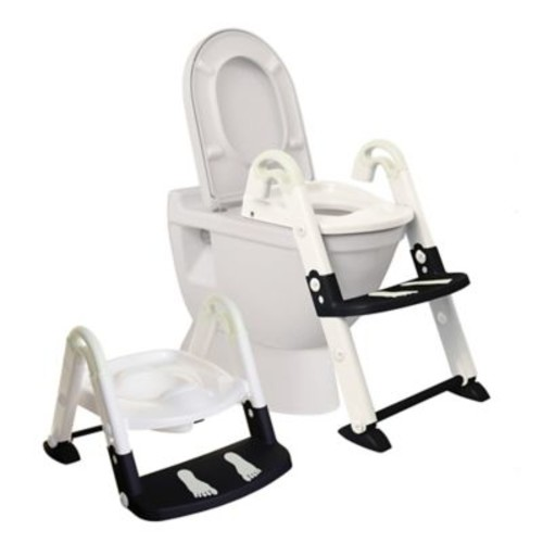 Dreambaby 3-in-1 Toilet Trainer in Black/White