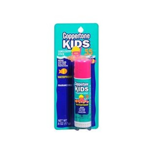 Coppertone Kids Stick SPF 55, .6-Ounce(Pack of 3)