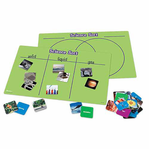 Learning Resources Science Sort Activity Set