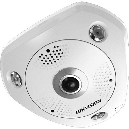 DS-2CD6332FWD-IV 3MP Outdoor Vandal-Resistant Network Fisheye Camera with Night Vision