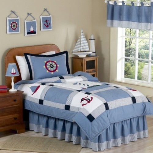 Come Sail Away Bedding Set