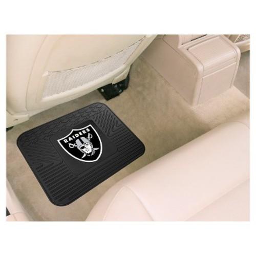FANMATS NFL Oakland Raiders Vinyl Utility Mat [Rear]