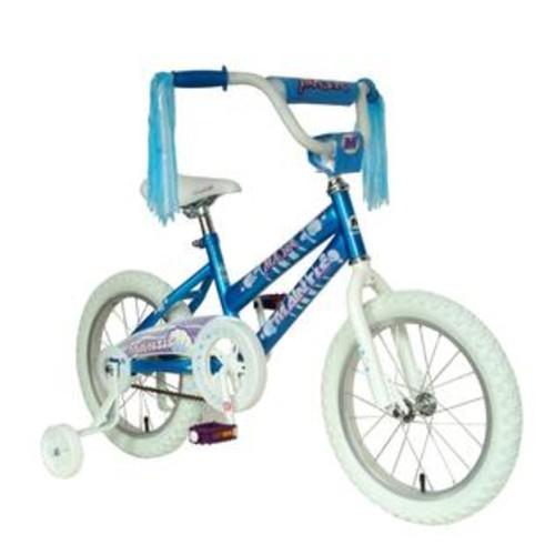 Mantis Girls Blue 16 Inch Maya Bicycle w Training Wheels