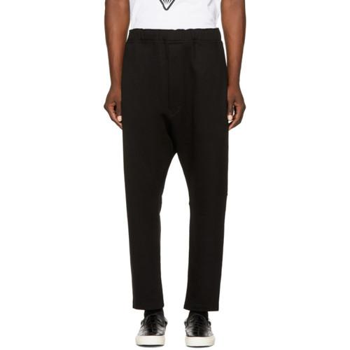 JUNYA WATANABE Black Drawstring Lounge Pants