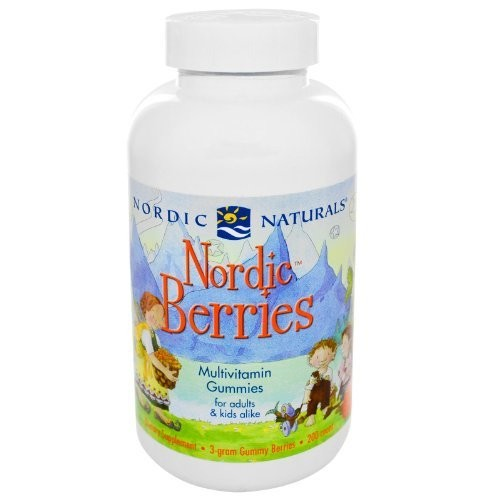 Nordic Naturals Nordic Berries [Frustration-Free Packaging, 200]