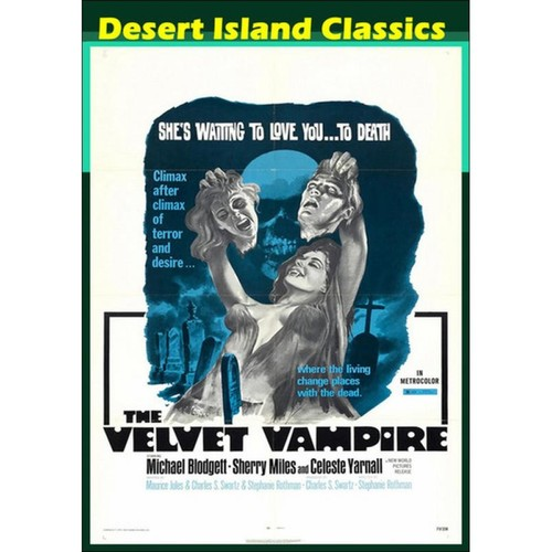 The Velvet Vampire [DVD] [1971]