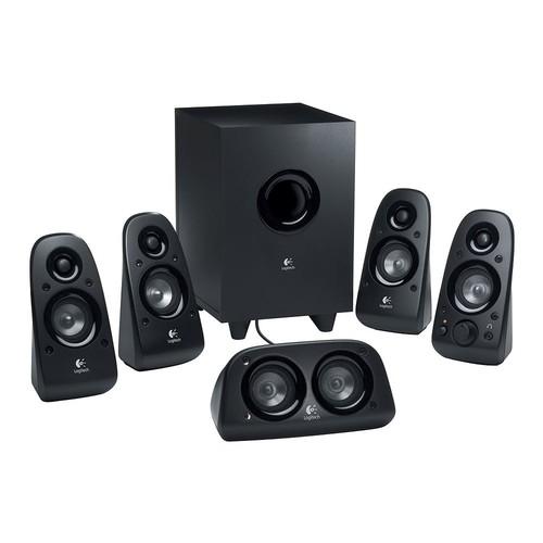 Logitech Z906 5.1 Surround Sound Speaker System - THX, Dolby Digital and DTS Digital Certified [Speaker]