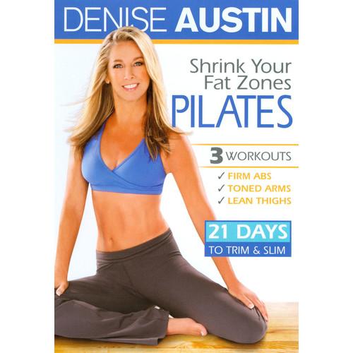 Denise Austin: Shrink Your Fat Zones - Pilates [DVD] [2010]