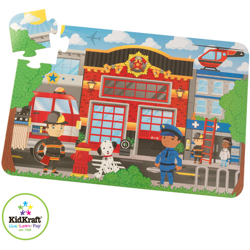 KidKraft Floor Puzzle Emergency Rescue
