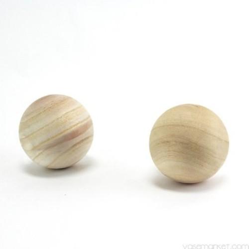 Decorative Wood Ball
