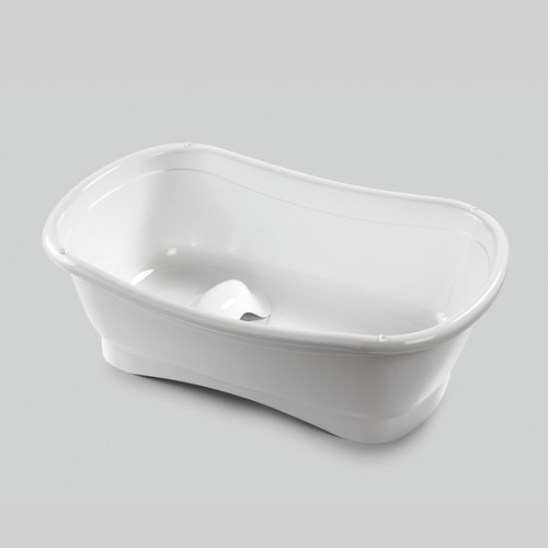 Summer Infant Right Height Plastic Bath Tub