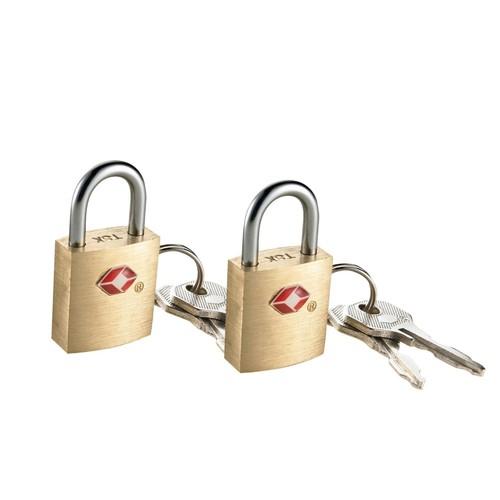 Travel Smart Padlock, Travel Sentry, 2 locks