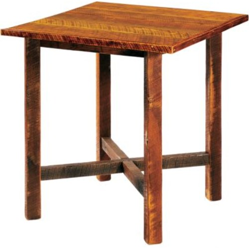 Fireside Lodge Barnwood Square Pub Table [STYLE : ANTIQUE OAK]