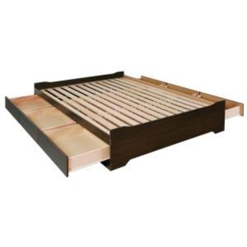 Prepac Coal Harbor Full Wood Storage Bed