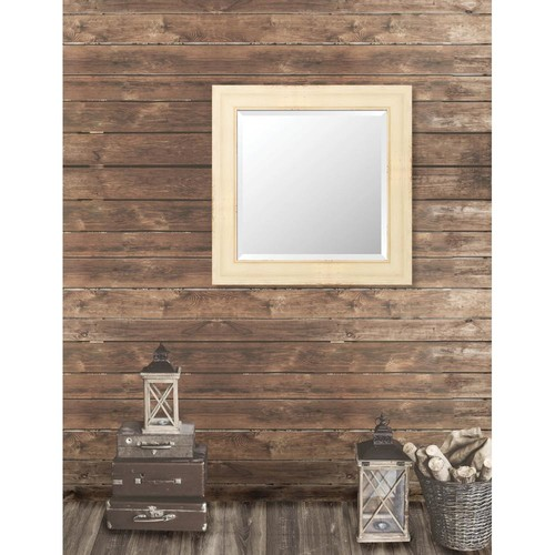 Larson-Juhl Pinnacle 31.5 in. x 31.5 in. French Antique Wide Framed Bevel Mirror