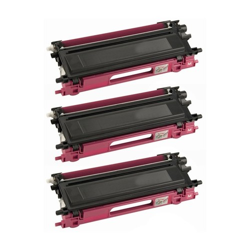 Brother TN115M High Yield Magenta Toner Cartridge [Laser - 4,000 page yield]