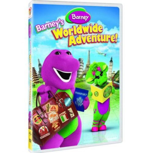 BARNEY-BARNEYS WORLDWIDE ADVENTURE (DVD)