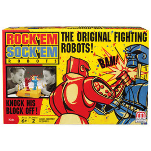 Mattel GAME ROCKEM SOCKEM ROBOTS