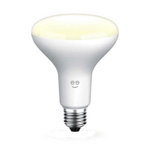 Geeni LUX DROP 65W Equivalent Warm White BR30 Smart Dimmable and Adjustable LED Light Bulb