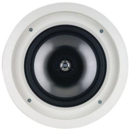 Leviton Architectural Edition Powered by JBL 100-Watt 8 in. In-Ceiling Speaker, White
