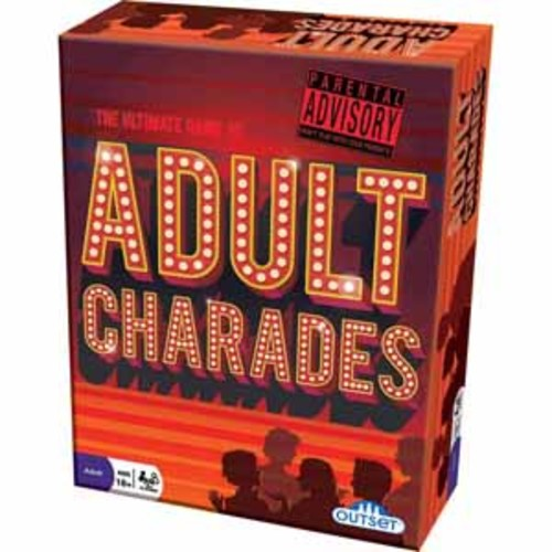 Outset Media Adult Charades Game