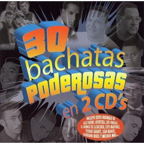 30 Bachatas Poderosas [CD]