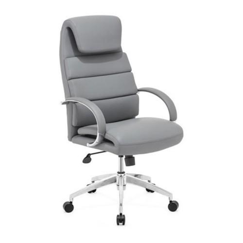 ZUO MODERN Lider Comfort Office Chair, Gray [Gray]