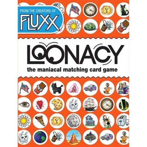 Loonacy Card Game Multi-Colored