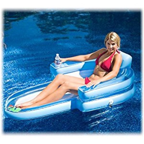 RAVE Sports Tahitian Chaise Pool Float