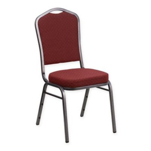 Flash Furniture HERCULES Banquet Chairs in Burgundy Fabric (Set of 4)