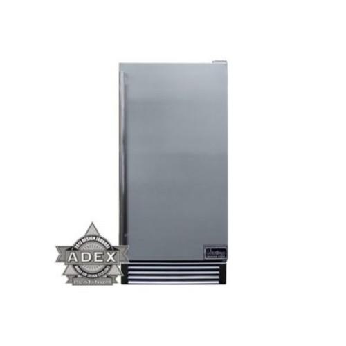 Vinotemp Designer Series Automatic 14.6'''' W 44 lb. Freestanding Ice Maker