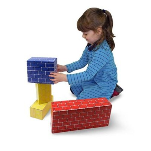 Melissa & Doug Toys - Jumbo Cardboard Blocks - 24 Piece Set