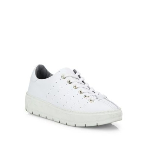 RAG & BONE Linden Perforated Leather Platform Sneakers